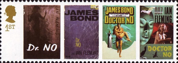 James-Bond-Briefmarke von 2008