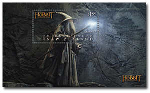 Gandalf auf Briefmarke