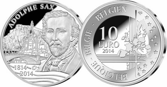 Sax 10-Euro in Silber