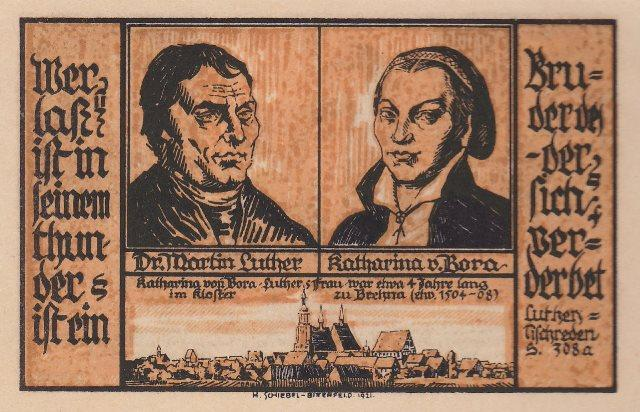 Notgeld-Martin Luther