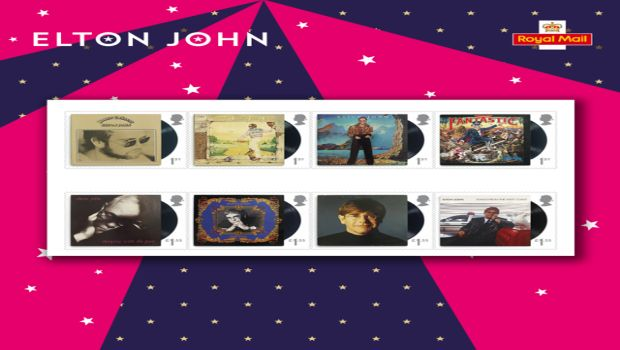 Briefmarken für den Rocket Man: Royal Mail ehrt Elton John
