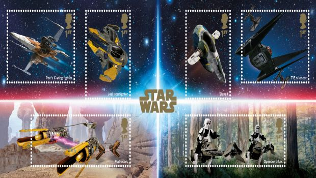 Skywalker und Co.: Neue Star Wars-Briefmarken