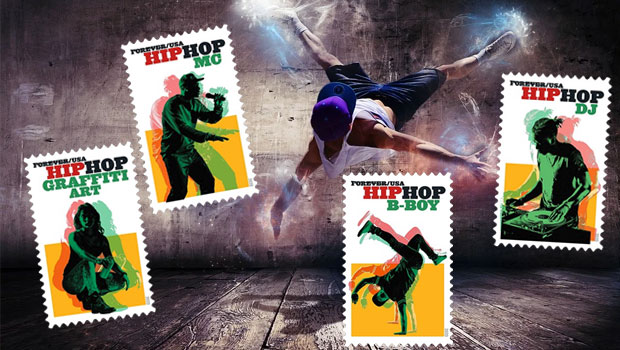 Rapper´s Delight – Hip-Hop-Briefmarken aus den USA
